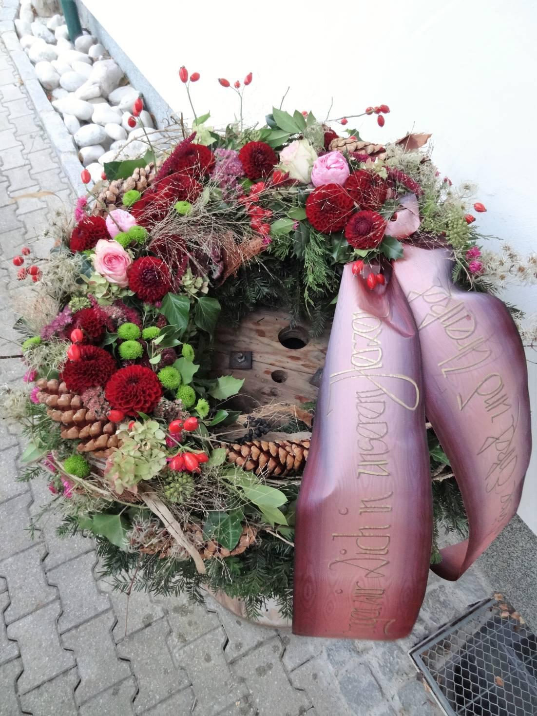 floral kreativ Petra Mandl Trauer 7